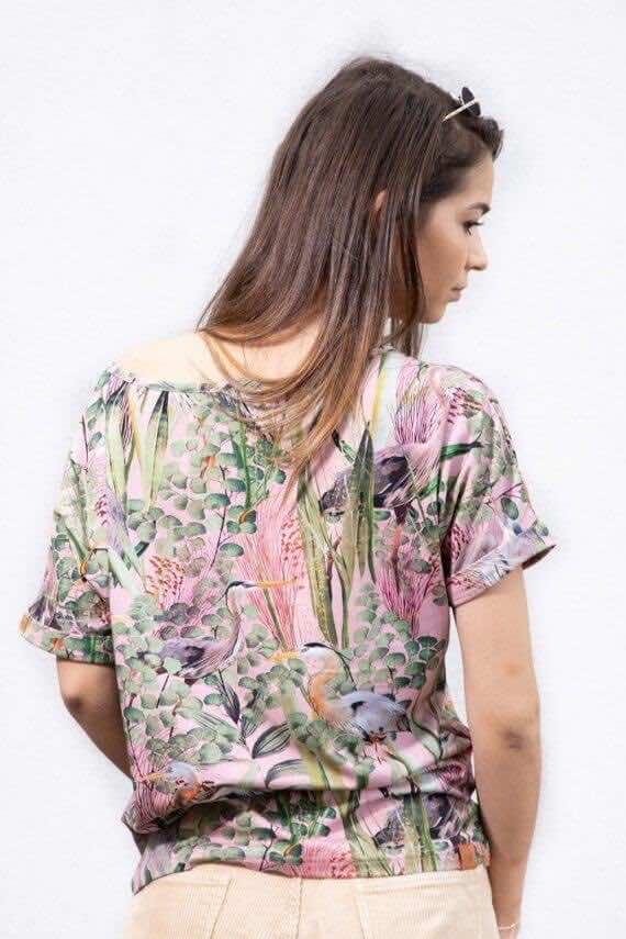 Koszulka kimono CZAPLE
