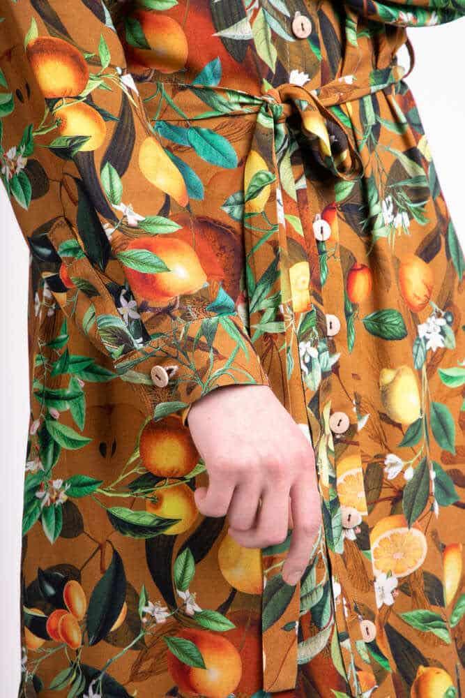 Sukienka koszulowa ORANGE