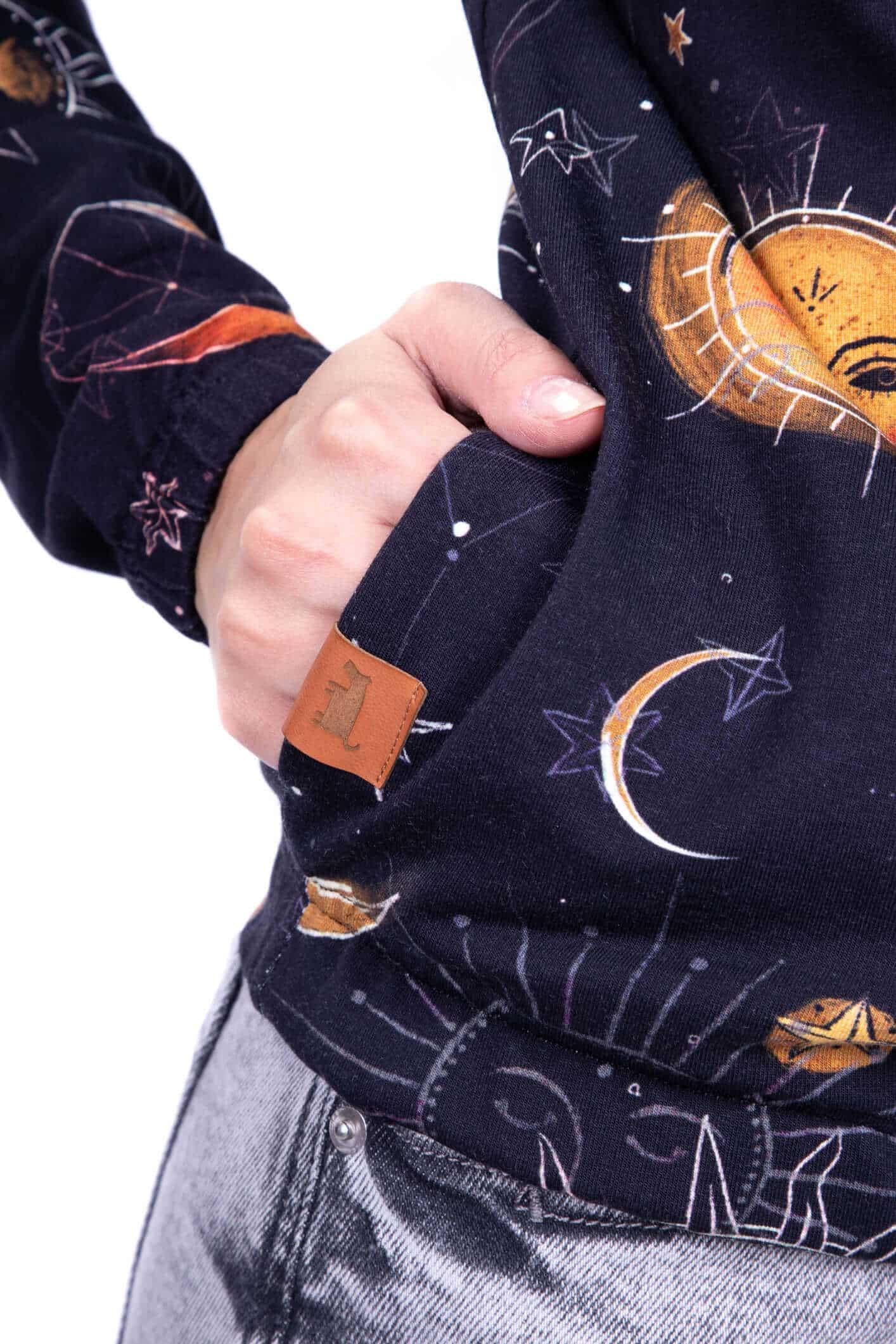 bluza hoodie pełnia