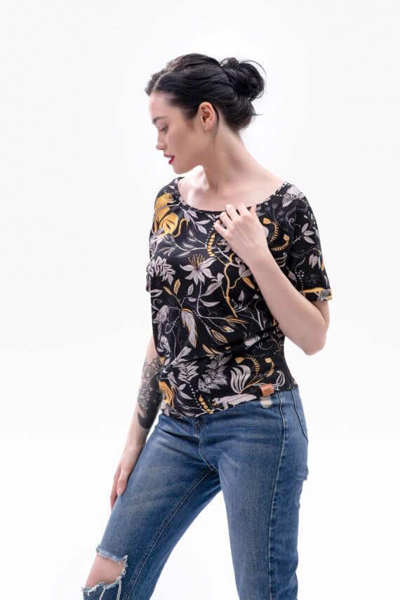 dziendobrysklep.com koszulka wiosna tropikalna noc