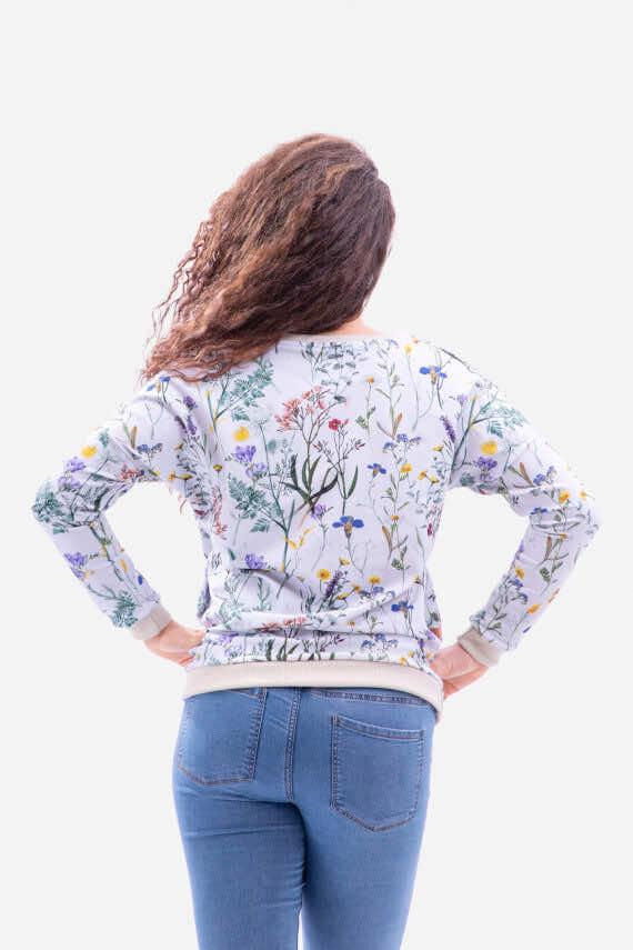 dziendobrysklep.com bluza kimono łąka