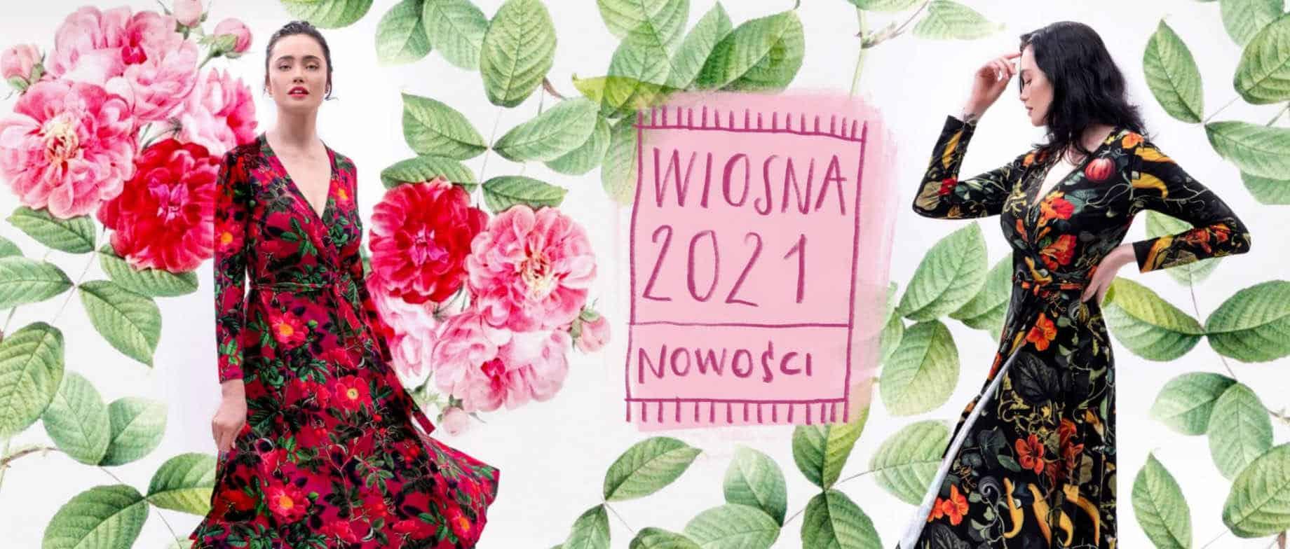 kolekcja wiosna 2021 sukienki koszulki dziendobrysklep.com