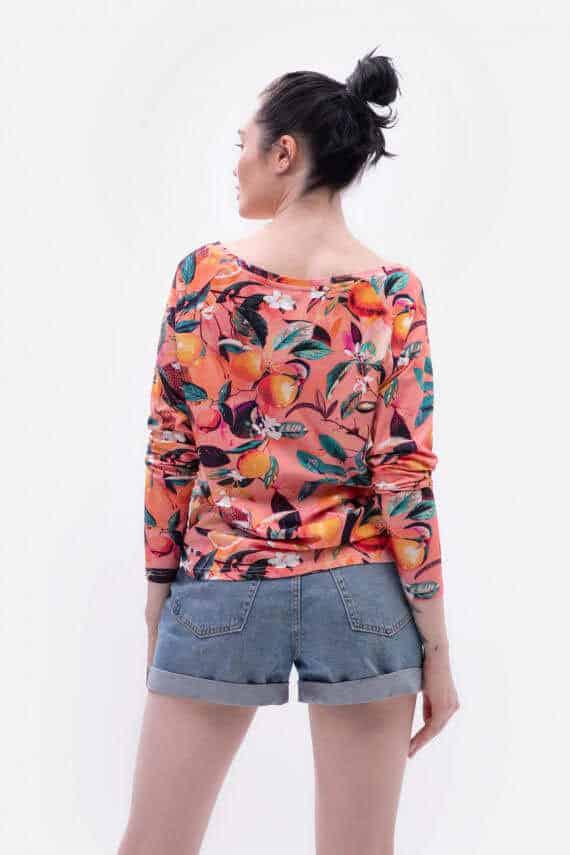 dziendobrysklep.com wiosna bluzka oversize sycylia