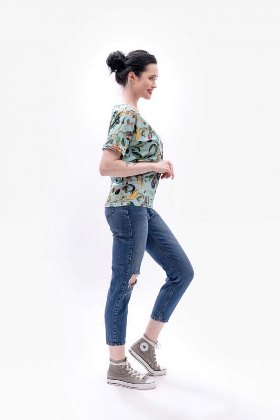 dziendobrysklep.com koszulka wiosna bakłażan