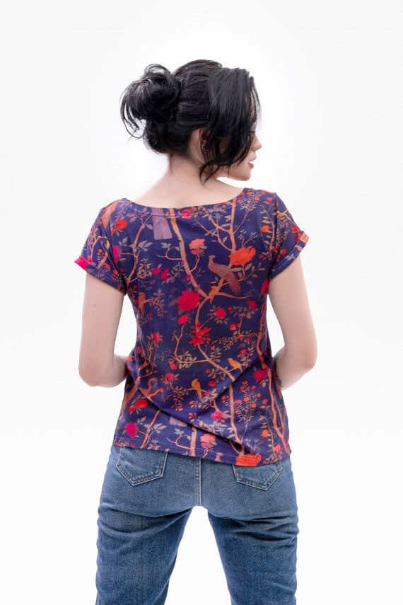 koszulka z krótkim rękawem Fado wiosna dziendobrysklep.com