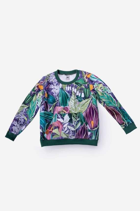 dziendobrysklep.com lato dzieci bluza lila
