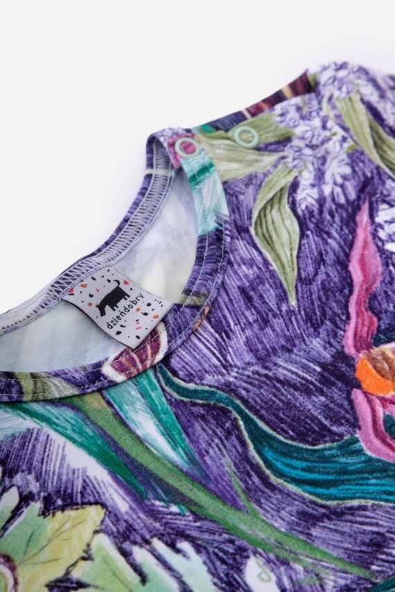 dziendobrysklep.com lato dzieci koszulka lila
