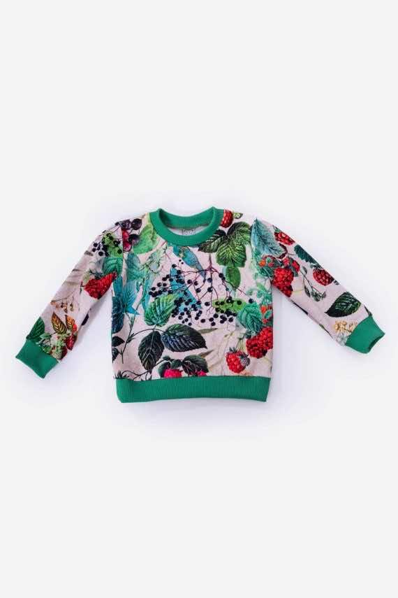 dziendobrysklep.com lato dzieci bluza maliny