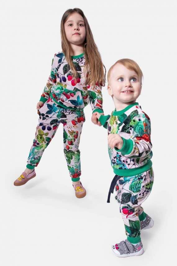 dziendobrysklep.com lato dzieci spodnie bluza maliny