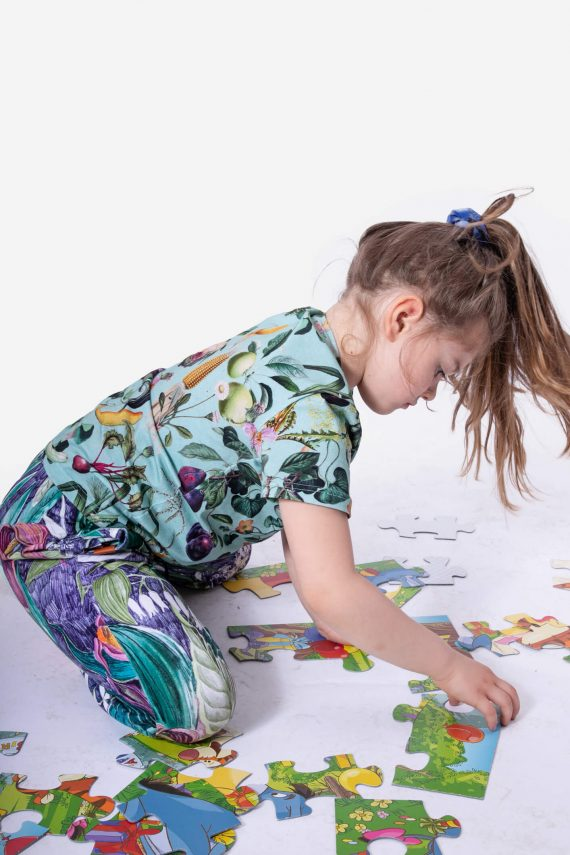 dziendobrysklep.com lato dzieci koszulka bakłażan